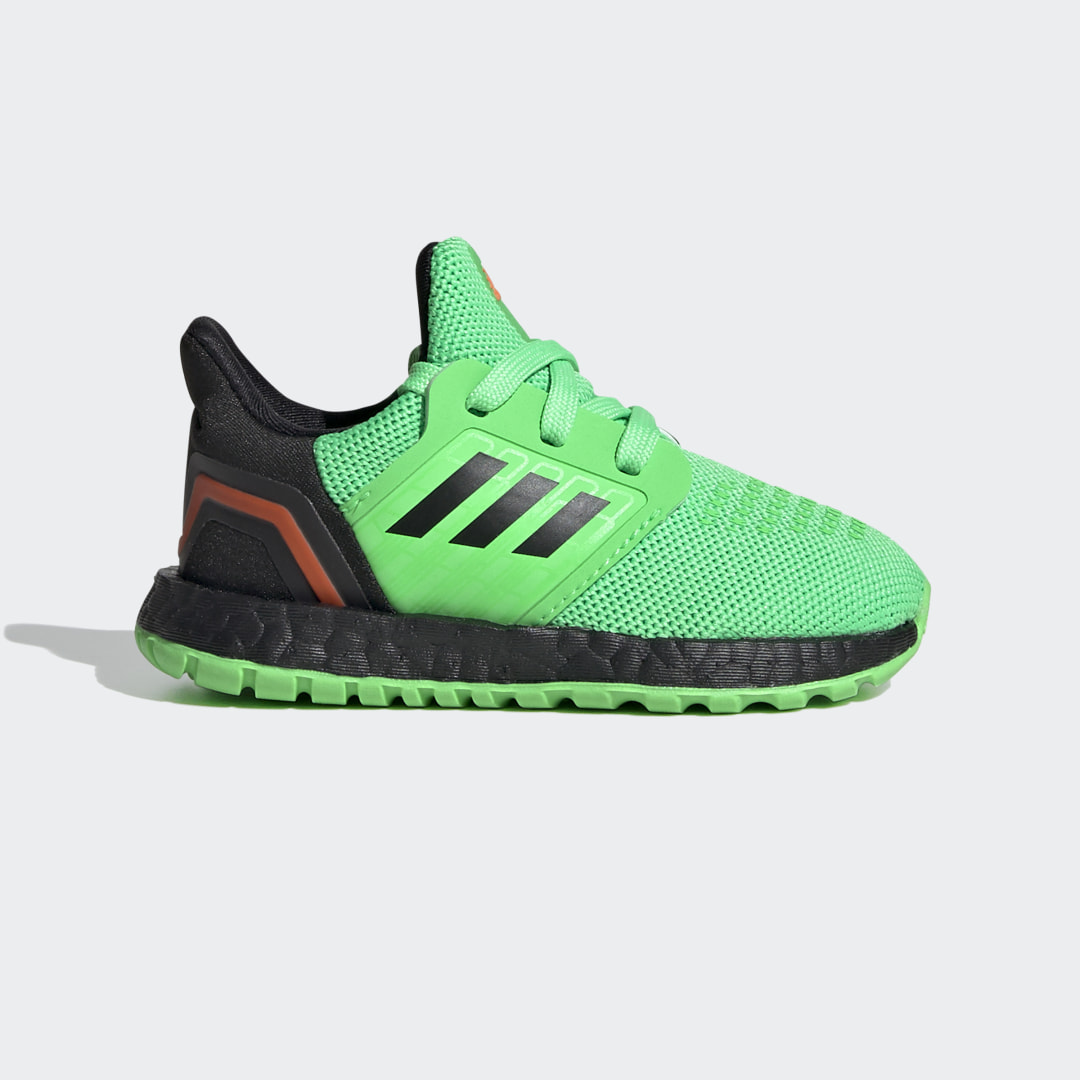 adidas Comfort for the littlest feet. This toddlers\\\' version of adidas\\\' responsive running shoe delivers energy return with every step. A sock-like upper and a grippy rubber outsole support little ones wherever their curiosity leads.