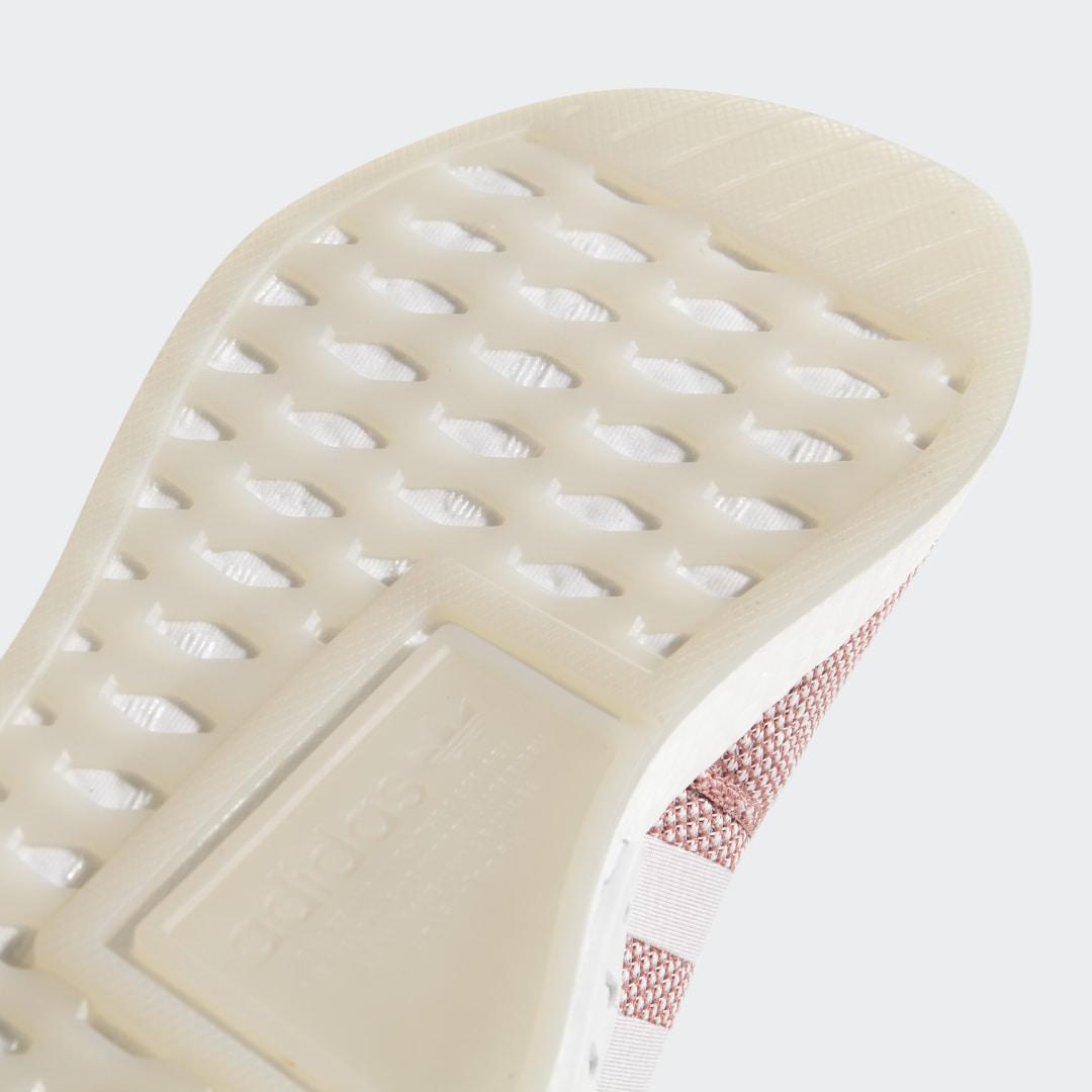 Фото 6 - Кроссовки NMD R2 adidas Originals белого цвета