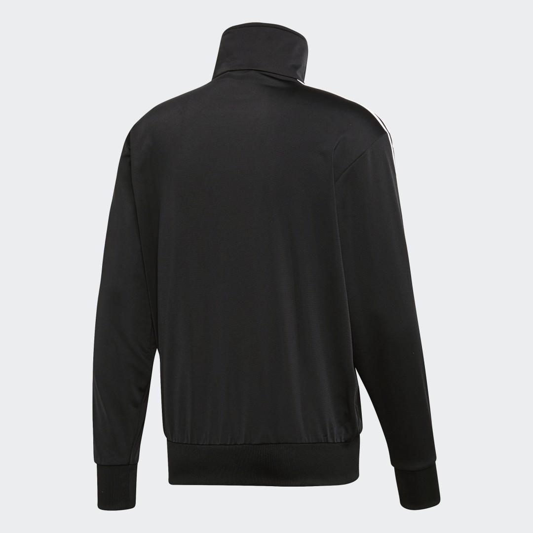 Фото 3 - Олимпийка Firebird adidas Originals черного цвета