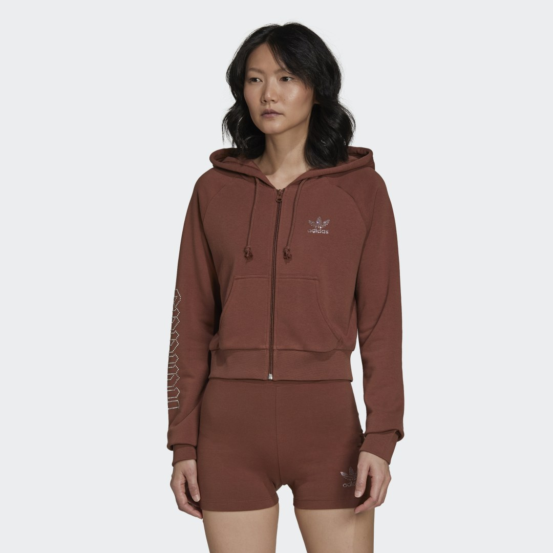 adidas 2000 Luxe Cropped Sportjack