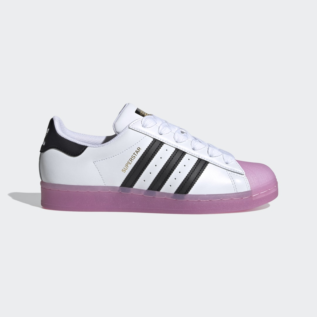 adidas Take cues from the adidas Superstar Shoes. Yes, they may be shoes, but they are also a symbol. A reminder to honor where you came from, but not let it limit you. So when it comes to doing it all, why not do it in the sneakers that started doing the same 50 years ago? Basketball courts. Stages. Streets. They\\\'ve been almost everywhere and done almost everything. Not bad footsteps to follow.