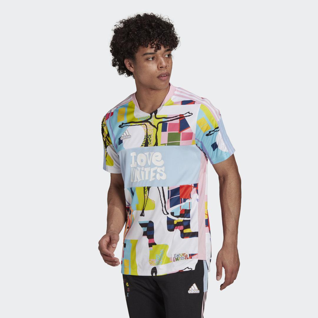 adidas Love Unites Tiro Voetbalshirt