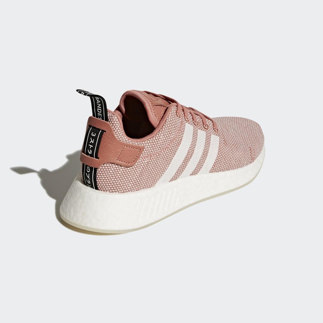 Фото 2 - Кроссовки NMD R2 adidas Originals белого цвета
