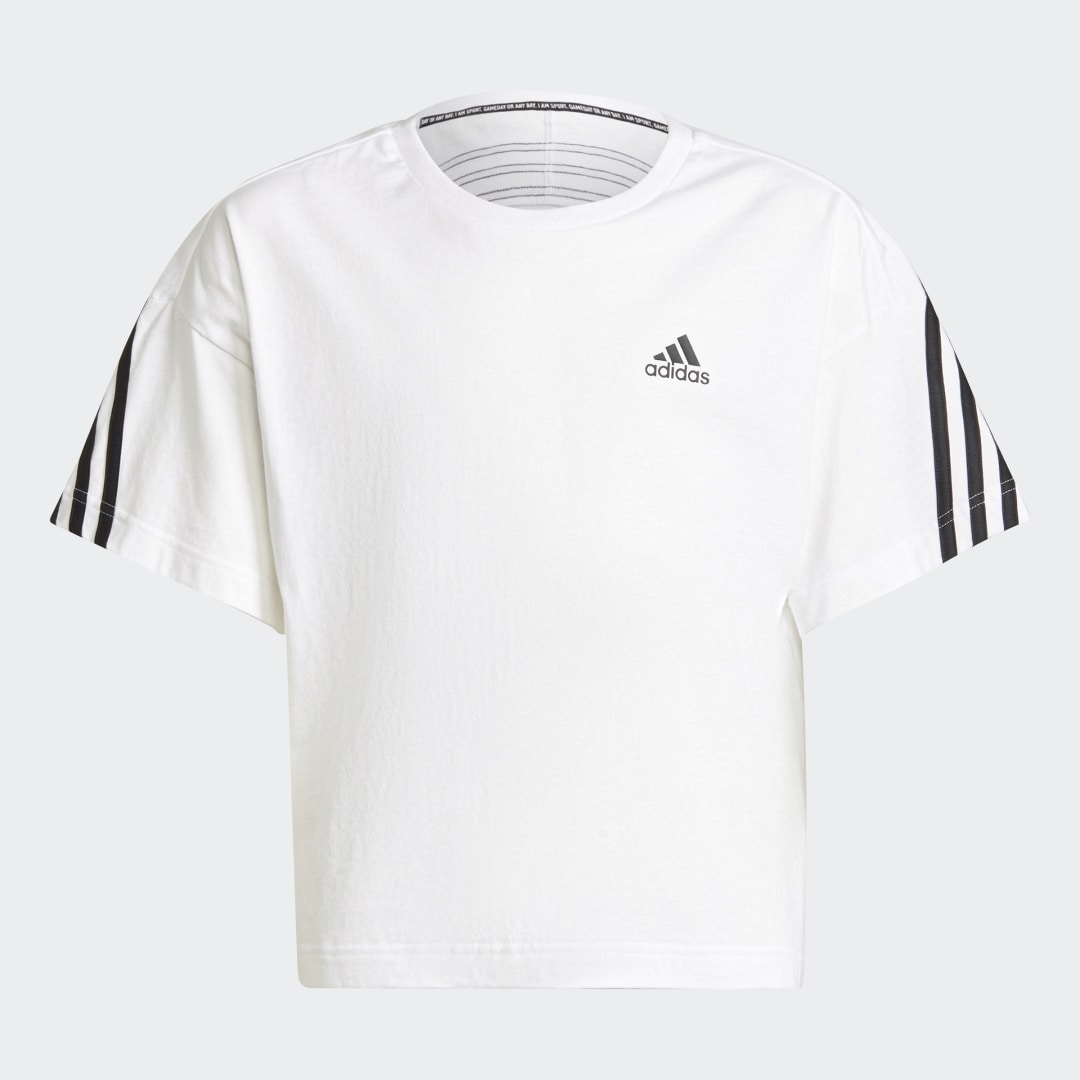 Organic Cotton Future Icons Sport 3-Stripes Loose T-shirt