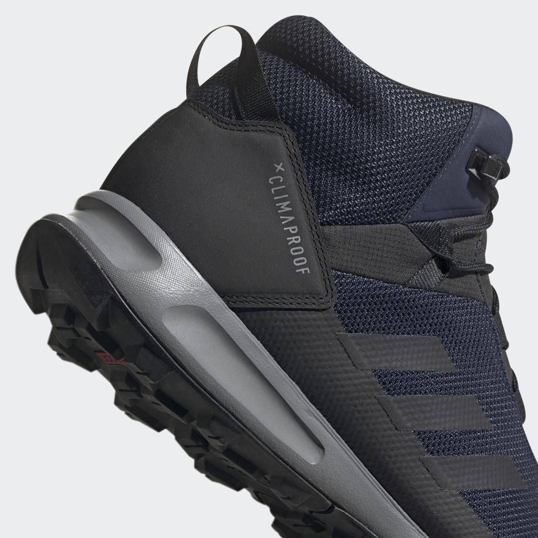 Фото 5 - Кроссовки TERREX Tivid Mid ClimaProof adidas TERREX черного цвета