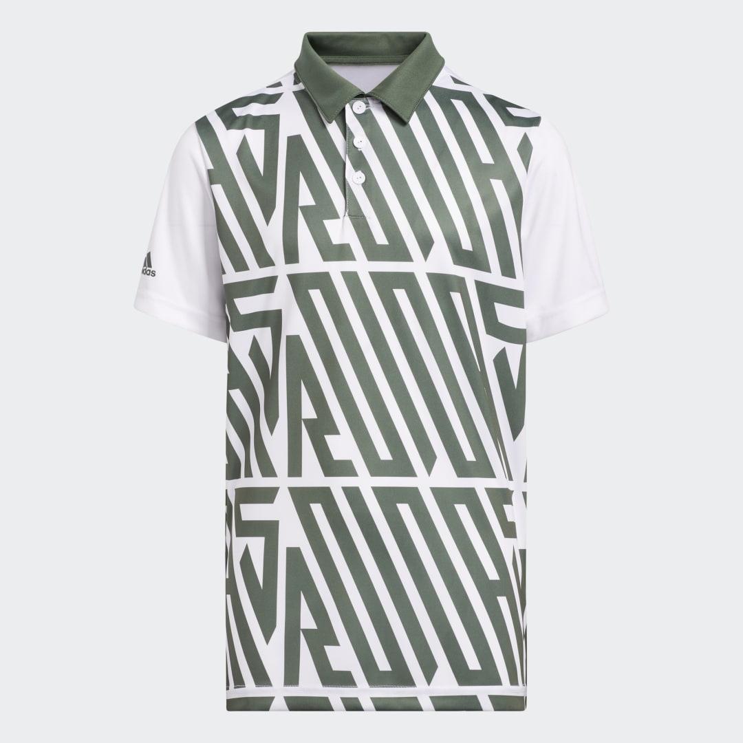 Printed Poloshirt