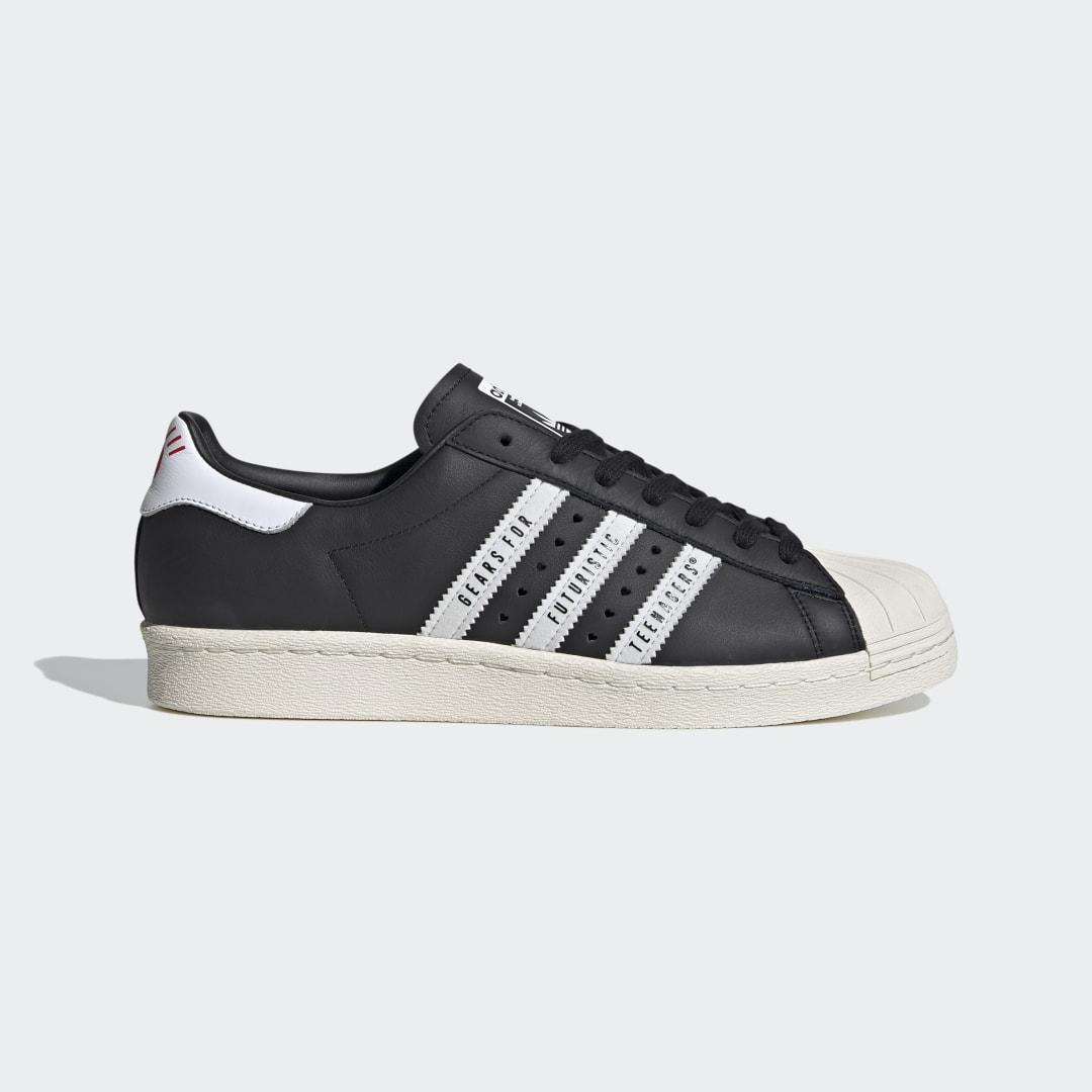 Adidas Superstar 80s Human Made Schoenen