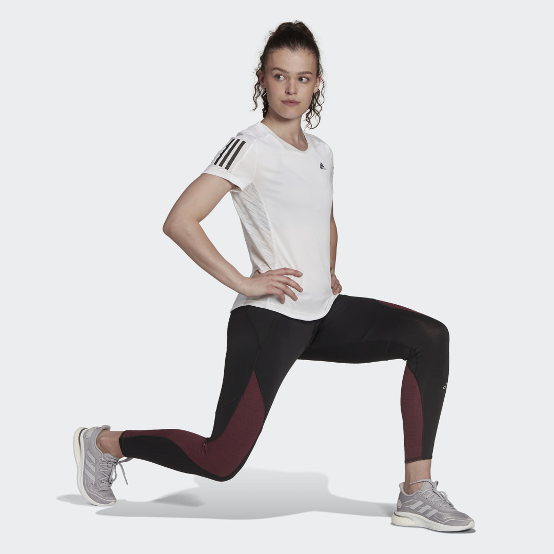 Леггинсы для бега Fast Primeblue adidas Performance