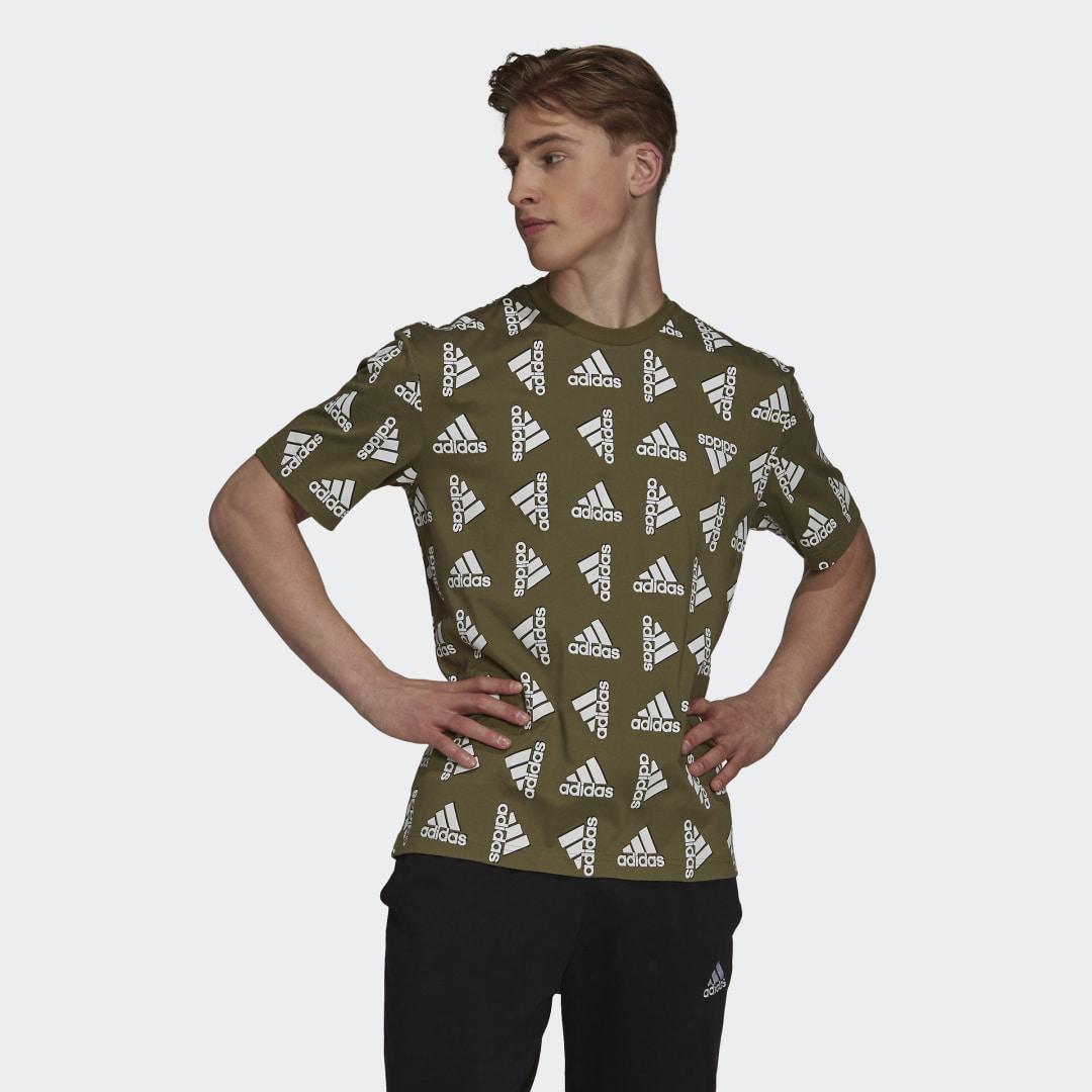Essentials Loose Giant Logo T-shirt (Uniseks)