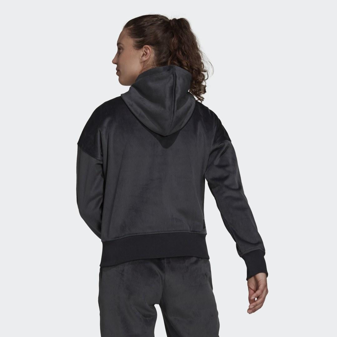 adidas Sportswear Future Icons Corduroy Hoodie