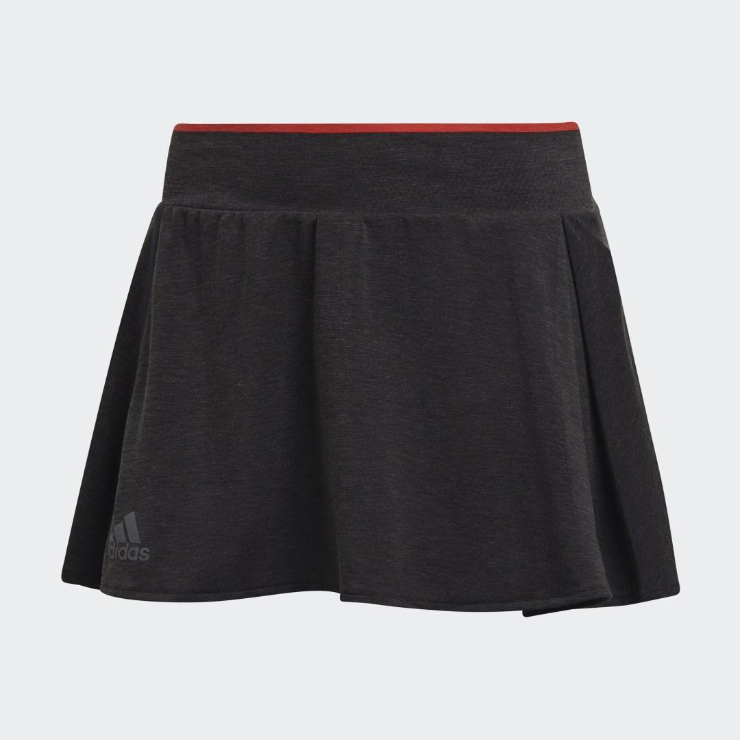 женская футболка adidas, красная