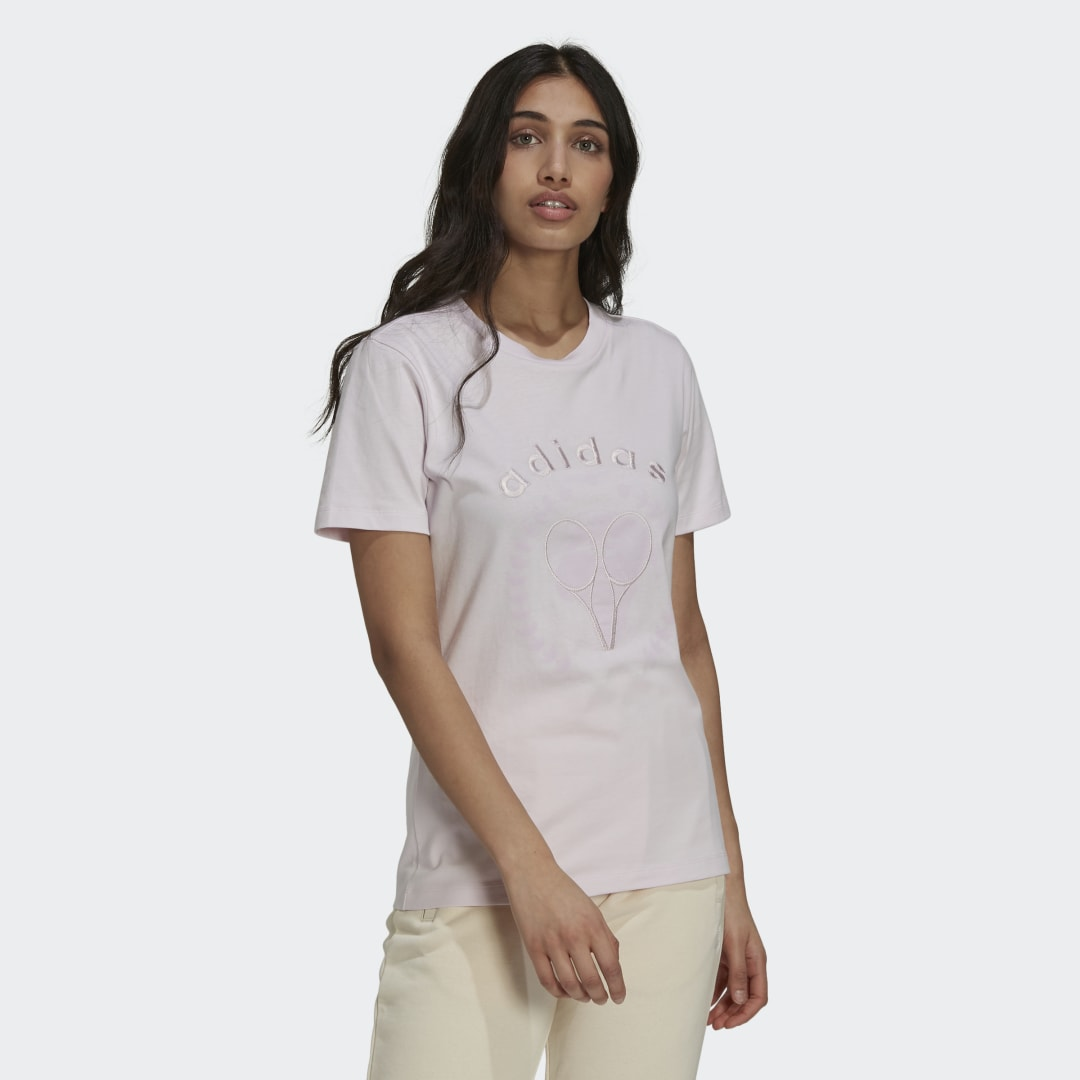 Tennis Luxe Graphic T Shirt