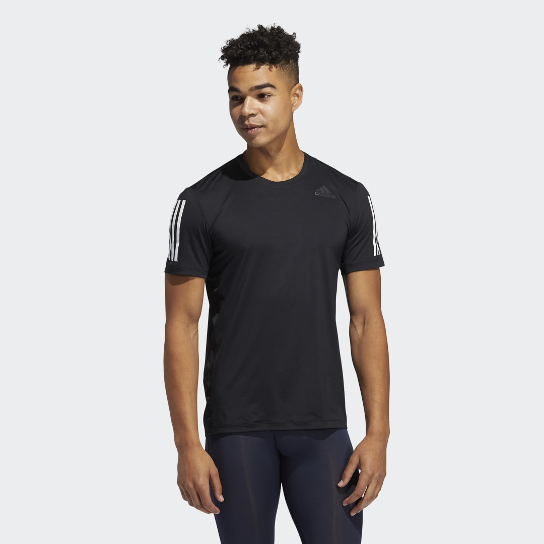 Techfit 3-Stripes Fitted T-shirt
