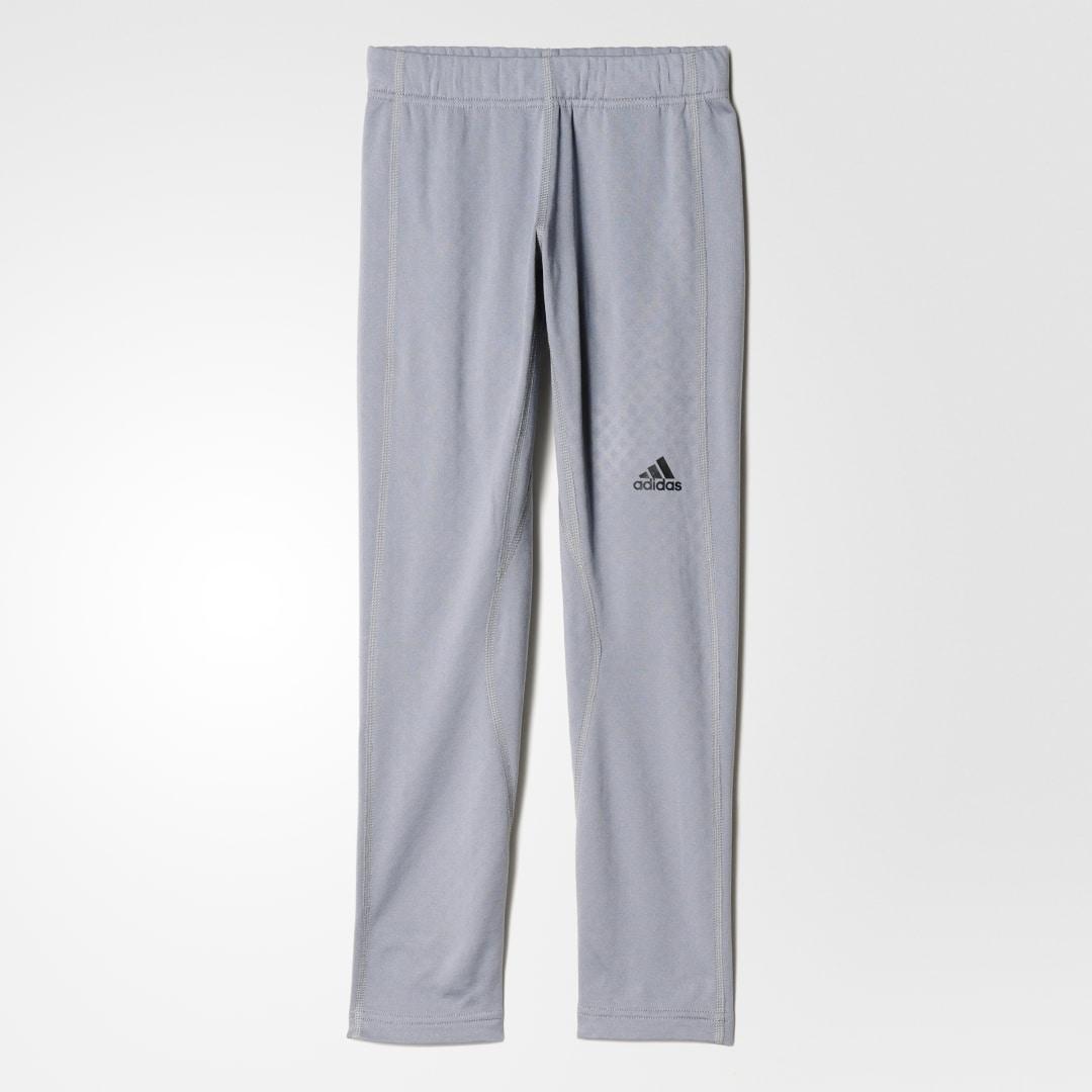 детские брюки adidas, серые