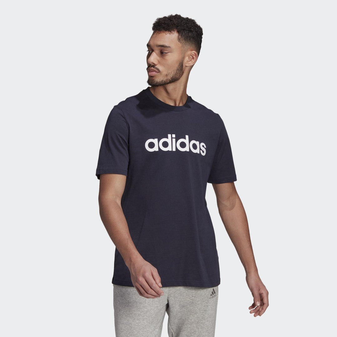 Essentials Embroidered Linear Logo T-shirt