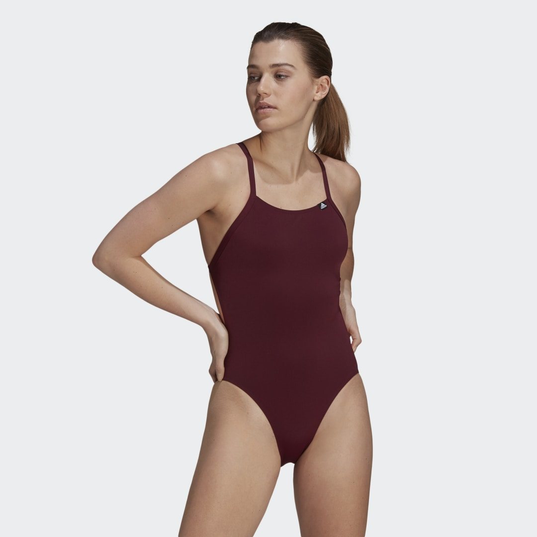 Sports Performance Solid Swimsuit