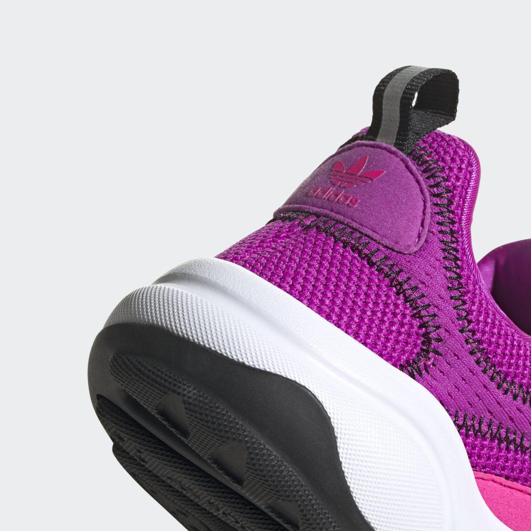 Фото 5 - Кроссовки Haiwee adidas Originals черного цвета