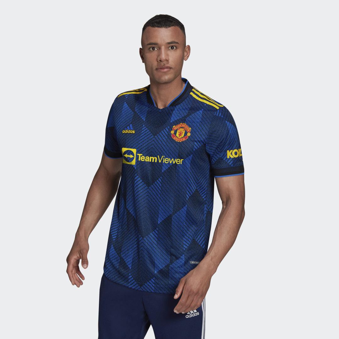 Manchester United 21/22 Authentiek Derde Shirt