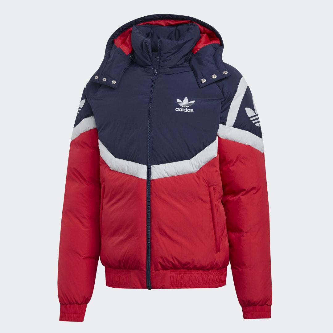 графике фото новой коллекции зимних курток адидас нас сайте