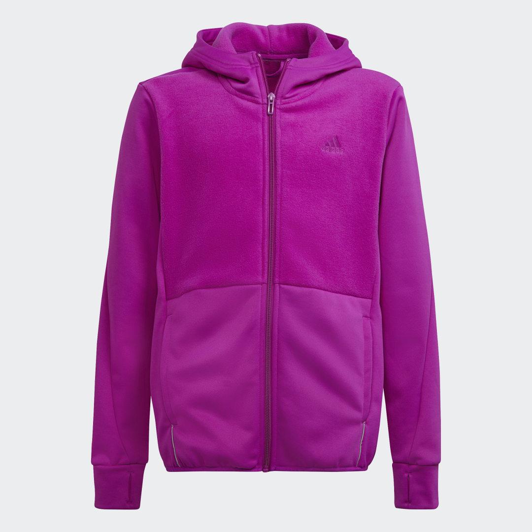 Designed to Move Fleece Hoodie (Uniseks)
