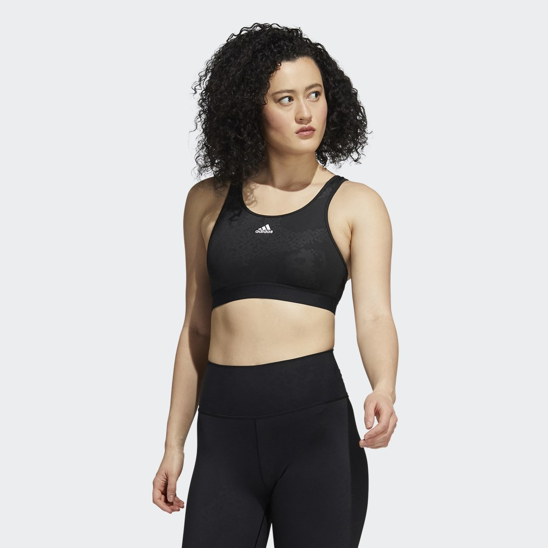 Believe This Medium-Support Lace Camo Workout Beha