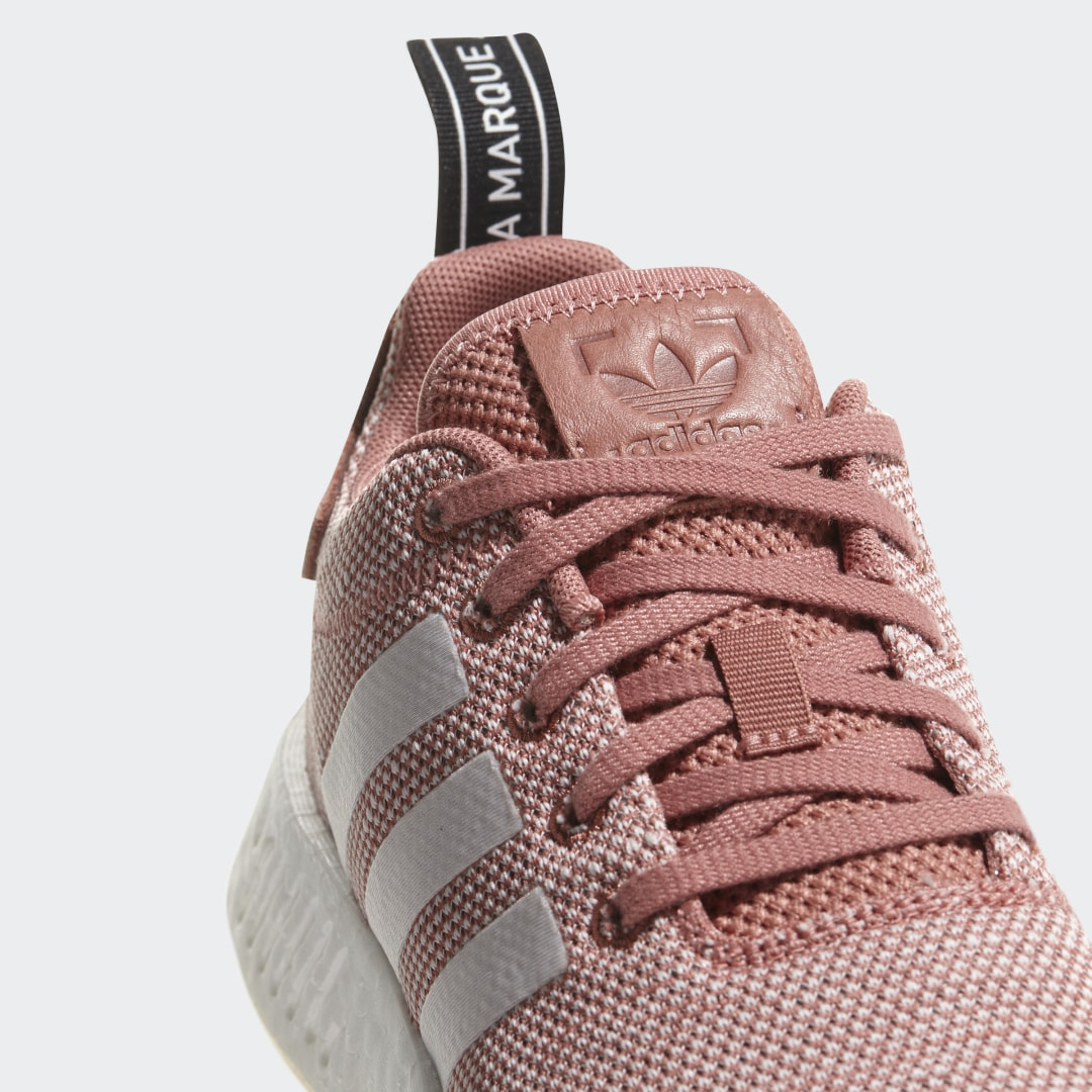 Фото 4 - Кроссовки NMD R2 adidas Originals белого цвета