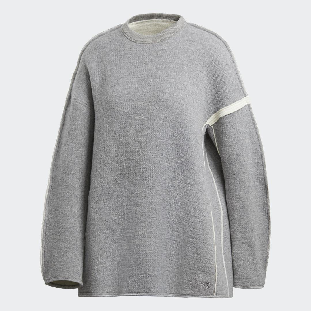 женский джемпер adidas, серый