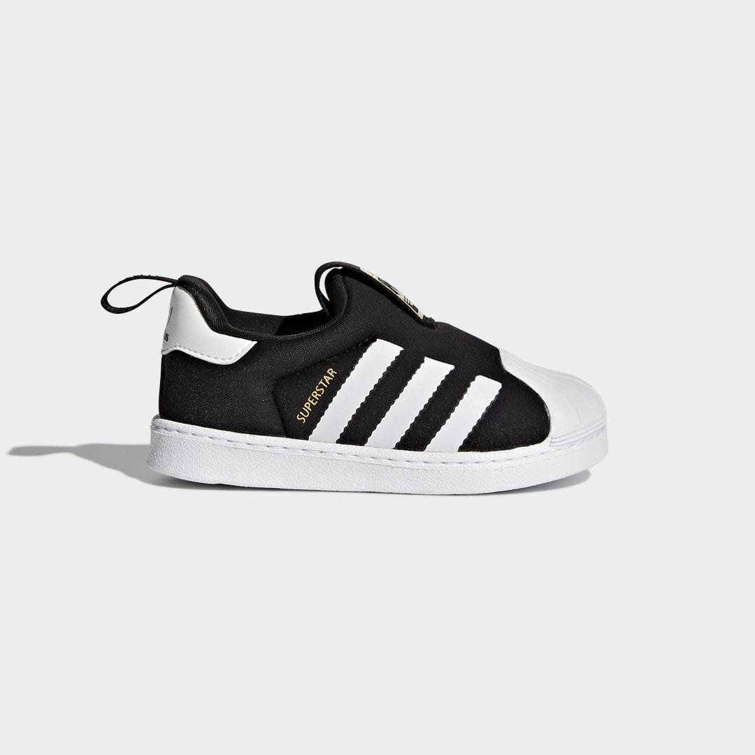детские кроссовки adidas, черные