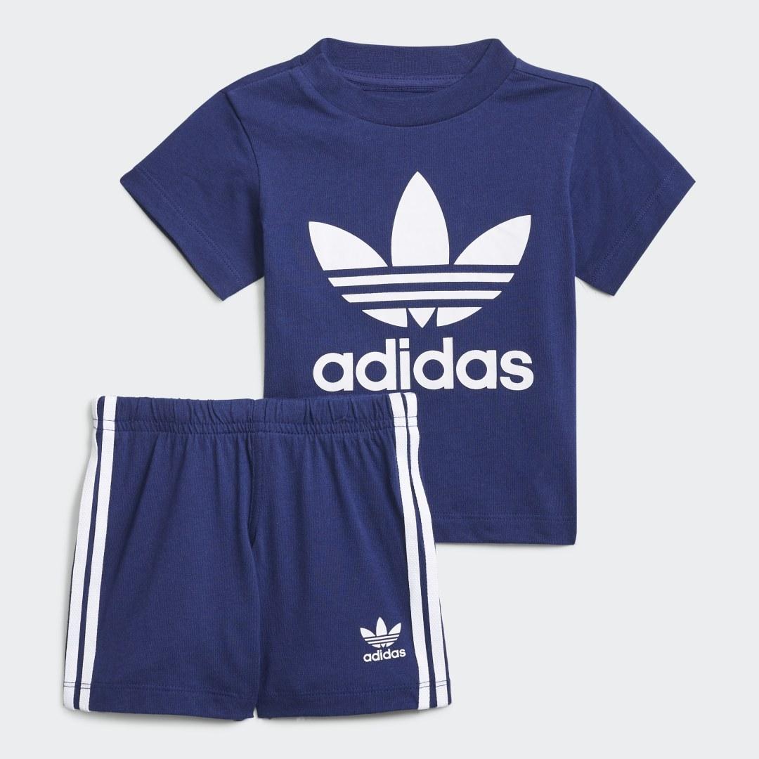Trefoil Short en T-shirt Set