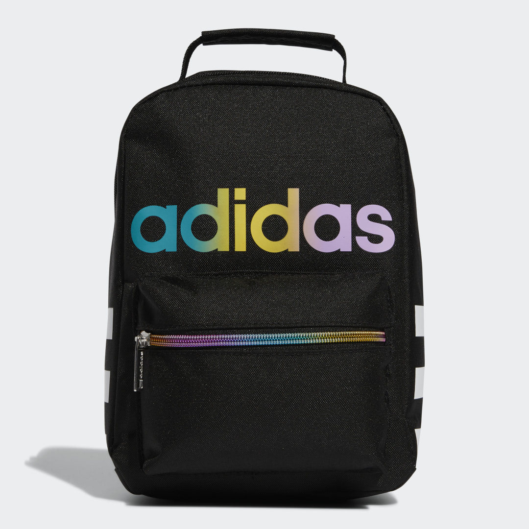 adidas Brown-bagging doesn\\\'t have to be boring! Load up this roomy lunch bag with your main meal and a few extra snacks, so you\\\'ll be ready to power through that 3 p.m. slump. The bag has insulated lining to keep food and drinks cool and classic adidas details to keep your style fresh, too.