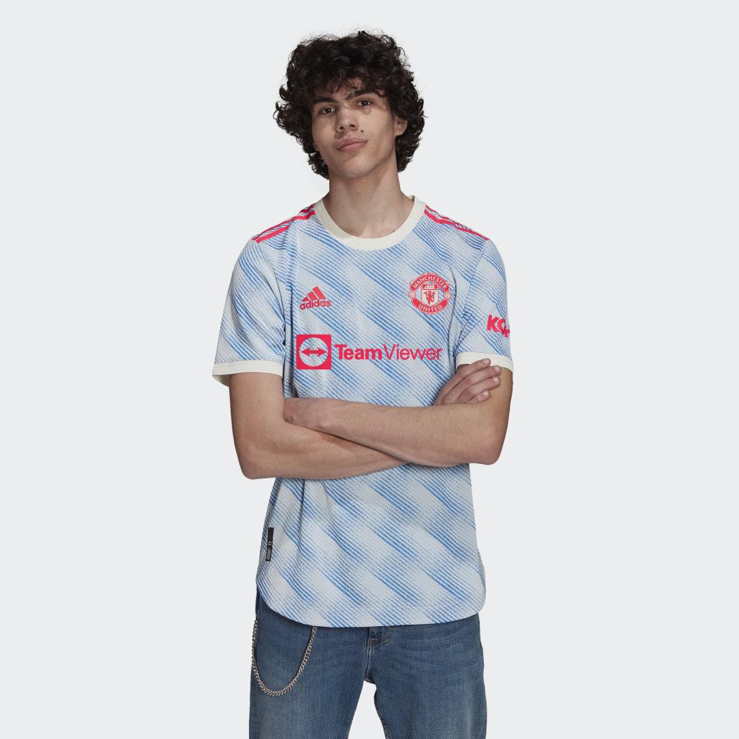 Manchester United 21/22 Authentiek Uitshirt