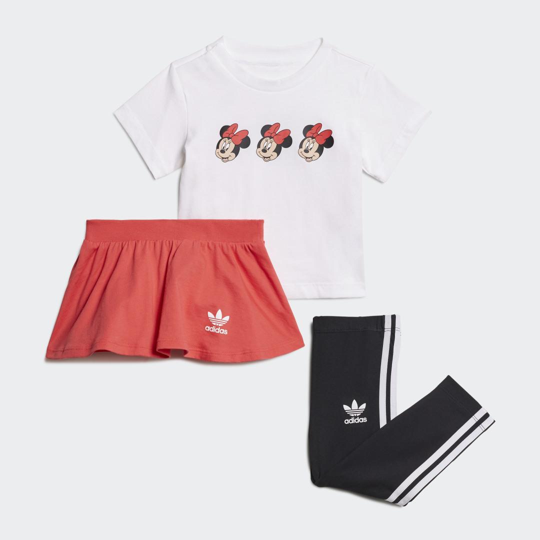 Disney Mickey and Friends Rok en T-shirt Setje