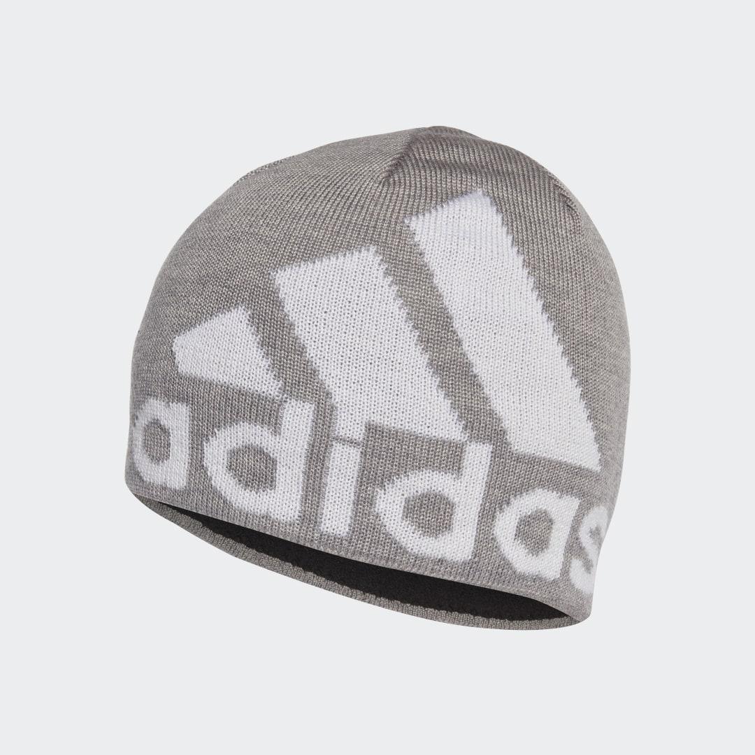 Шапка AEROREADY Big Logo adidas Performance белого цвета