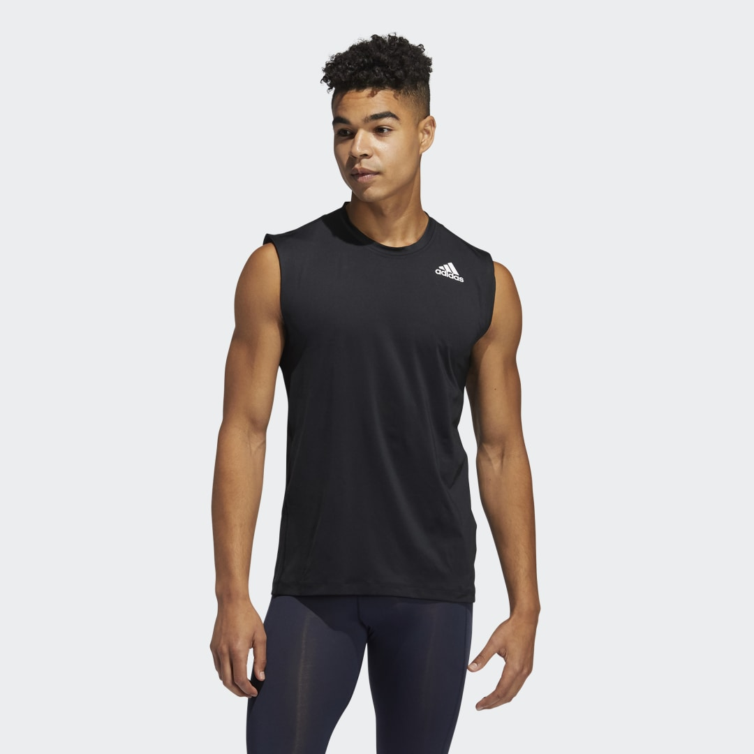 Techfit Mouwloos Fitted Shirt