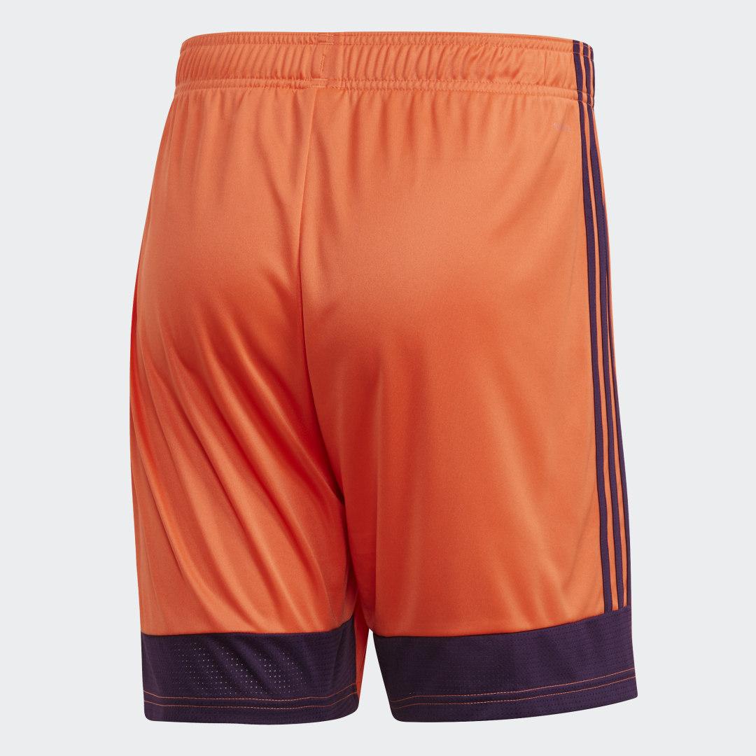 Фото 2 - Шорты Tastigo 19 adidas Performance оранжевого цвета