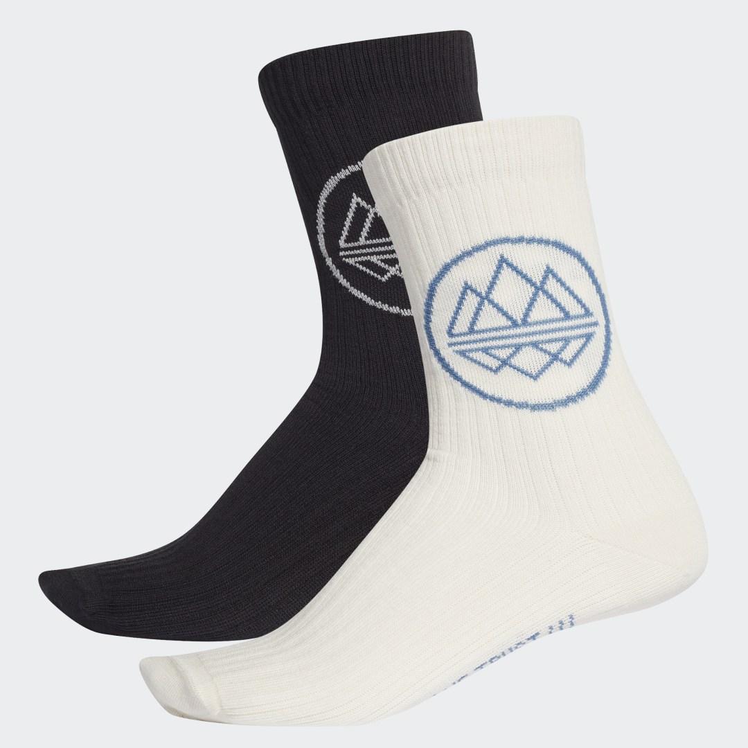 Две пары носков Trefoil SPZL adidas Originals