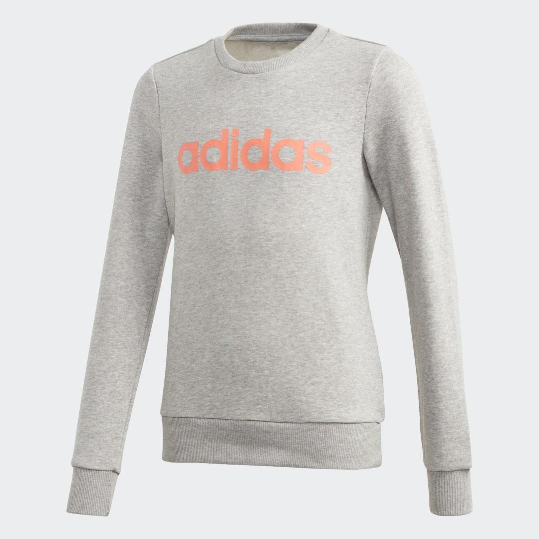 Джемпер для фитнеса Linear Trefoil adidas Performance
