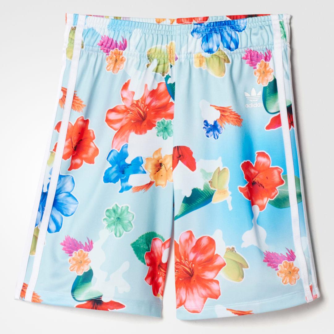 Шорты Allover Floral adidas Originals