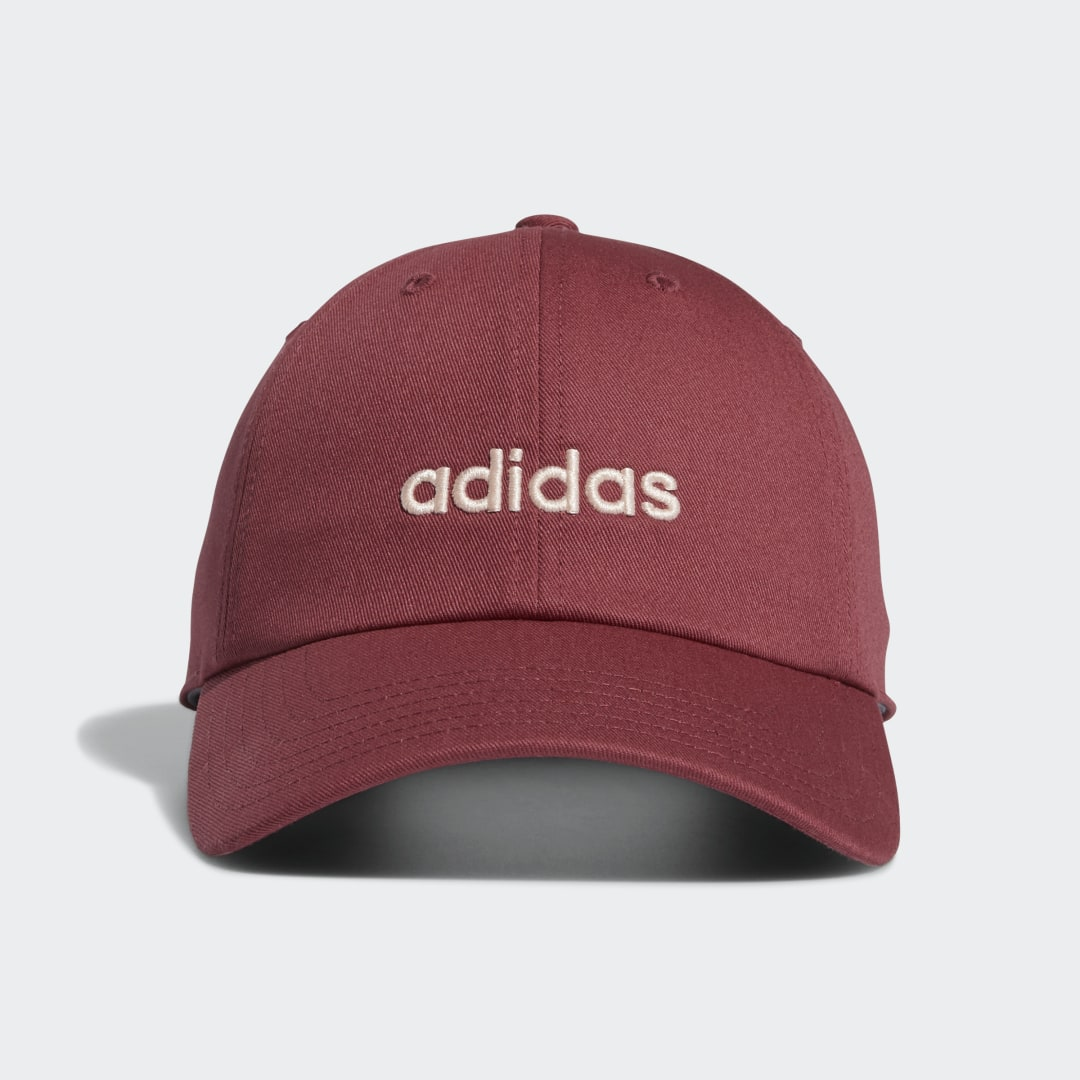 adidas The days are getting longer, which means more sun. Which also means the last thing you\\\'re throwing on as you walk out the door as you take advantage of the changing weather is a hat. This adidas hat, to be exact. The sweat-wicking band balances out the heat, and the pre-curved brim takes care of the needed shade factor.