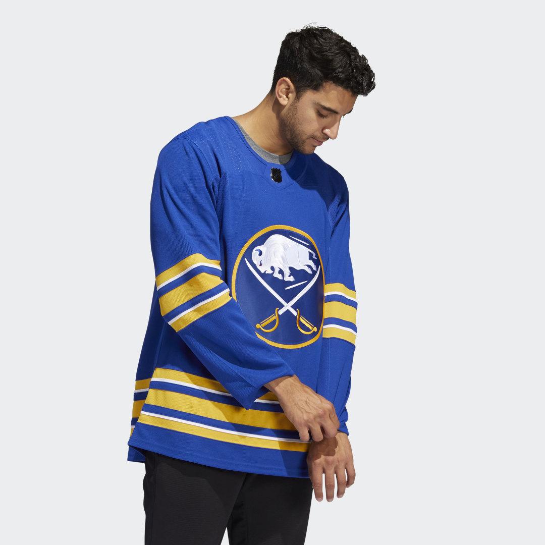 Оригинальный хоккейный свитер Sabres Home adidas Performance