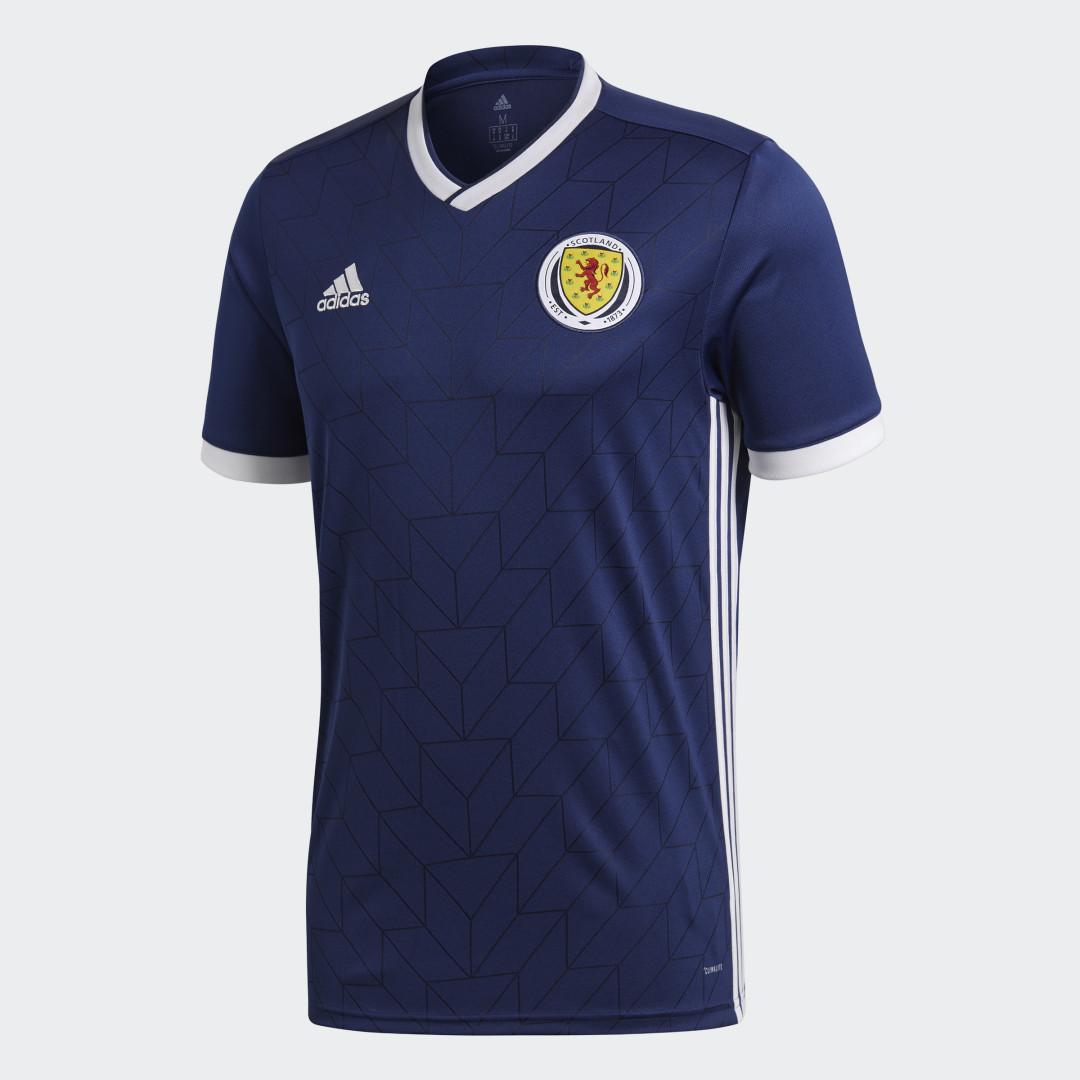 Домашняя игровая футболка сборной Шотландии adidas Performance