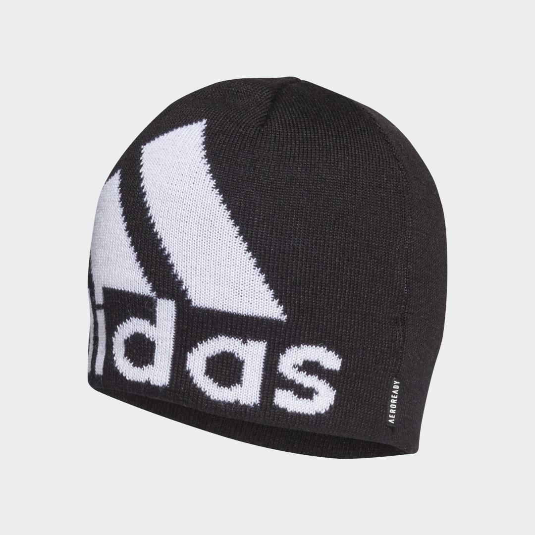 Шапка AEROREADY Big Logo adidas Performance черного цвета