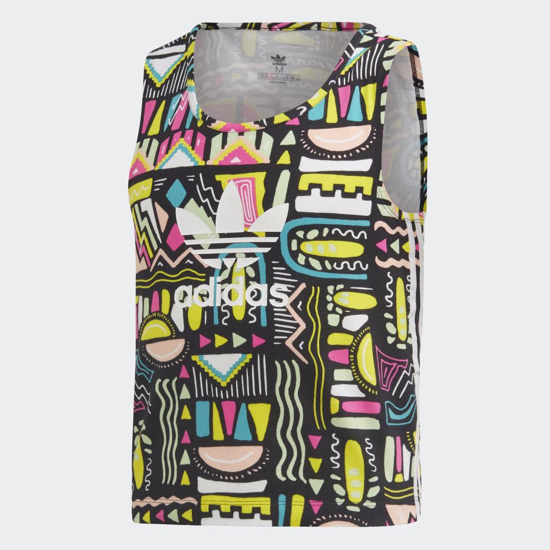 женское платье adidas, разноцветное