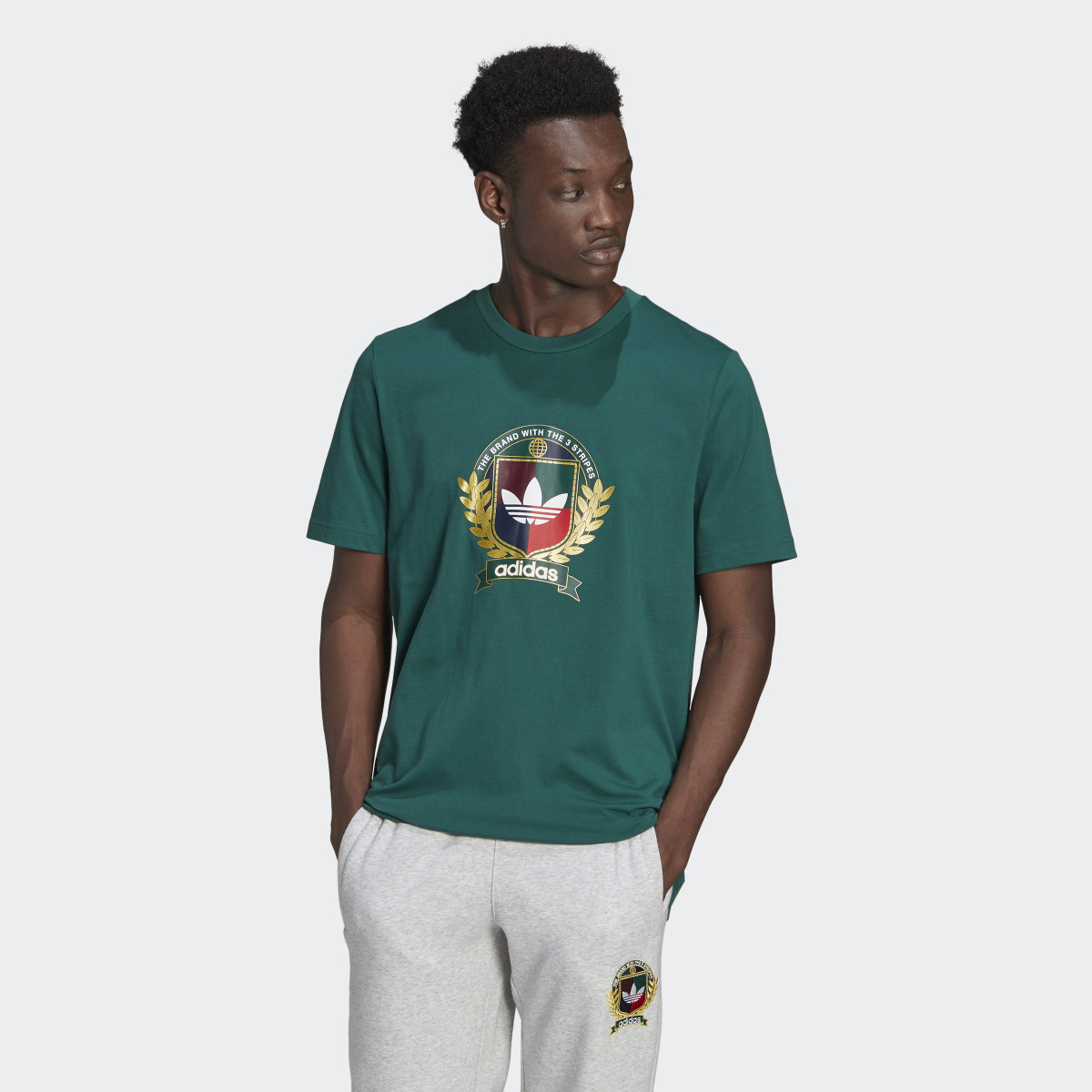 T-shirt Collegiate Crest