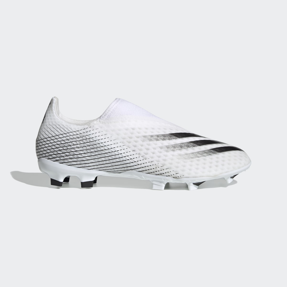X Ghosted.3 Laceless Firm Ground Soccer Cleats