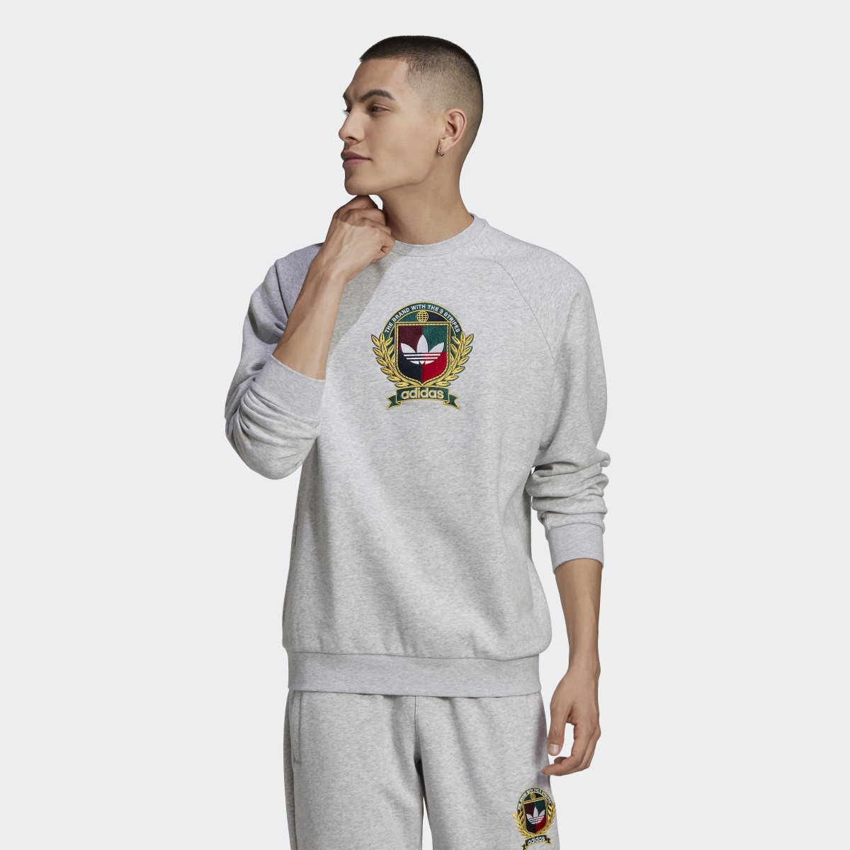 Sweat-shirt Collegiate Crest Crew