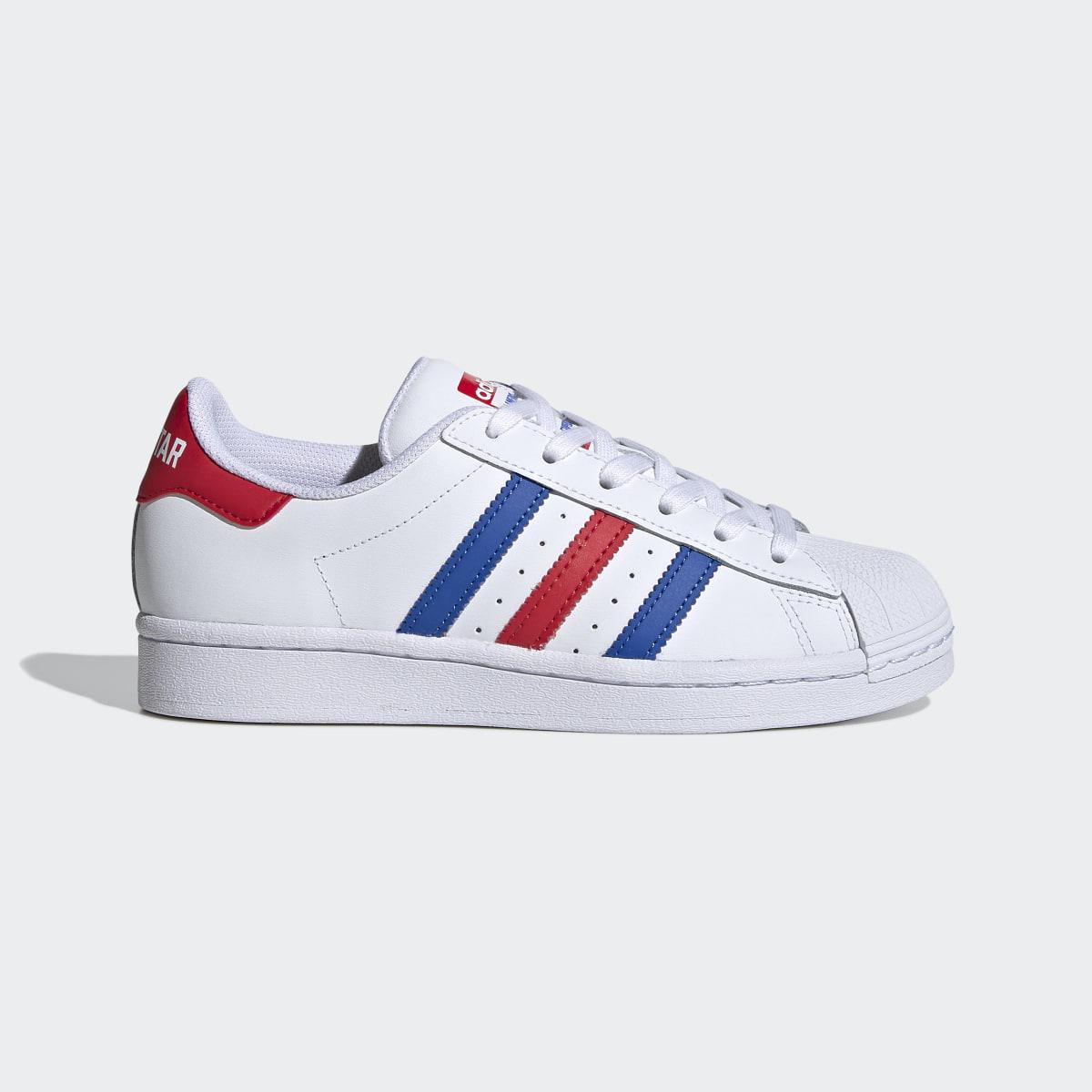 scarpe da tennis adidas sportswear bianche con baffo rosso