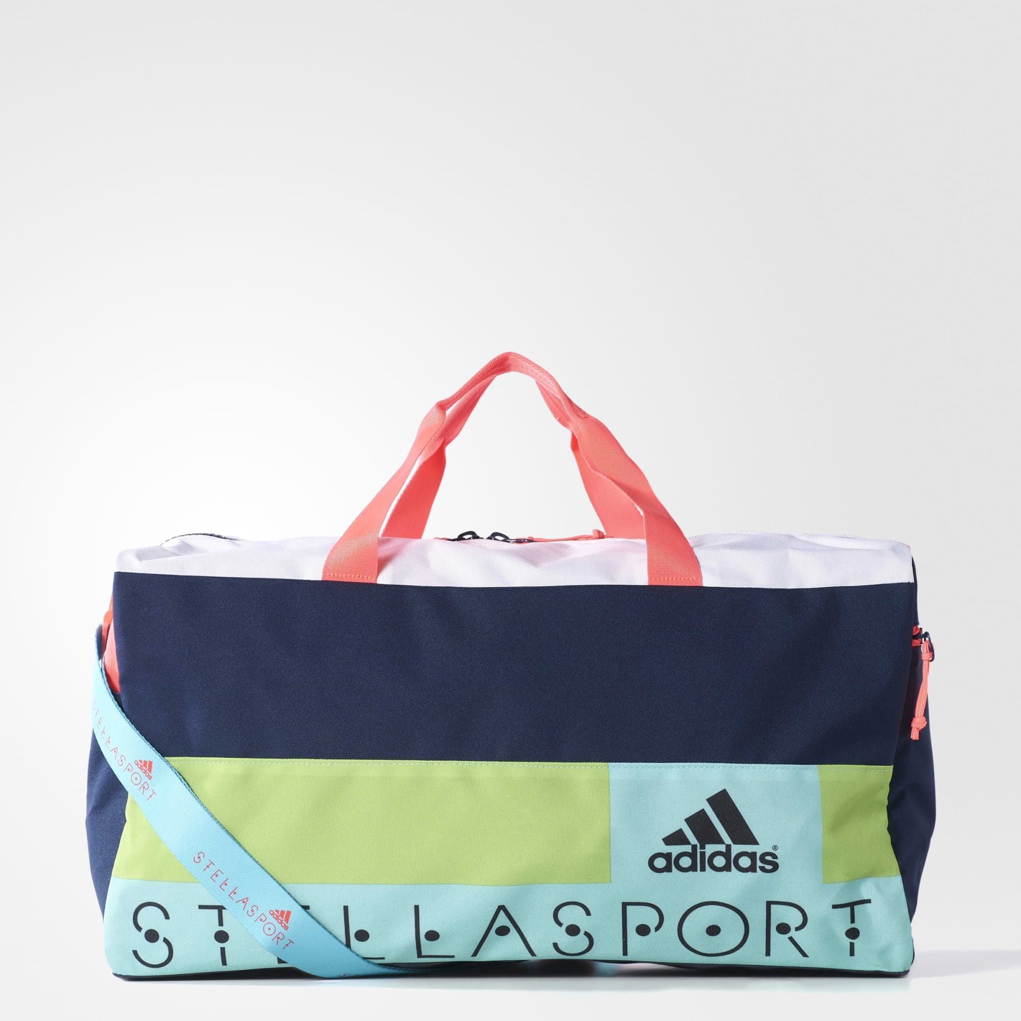 Details about ADIDAS STELLASPORT McCARTNEY WOMEN TEAM BACK GYM WORKOUT  DUFFEL BAG STYLISH NEW 1f8a02ce48