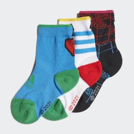 adidas x Classic LEGO® sokker, 3 par