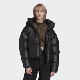 Укороченая куртка adidas by Stella McCartney